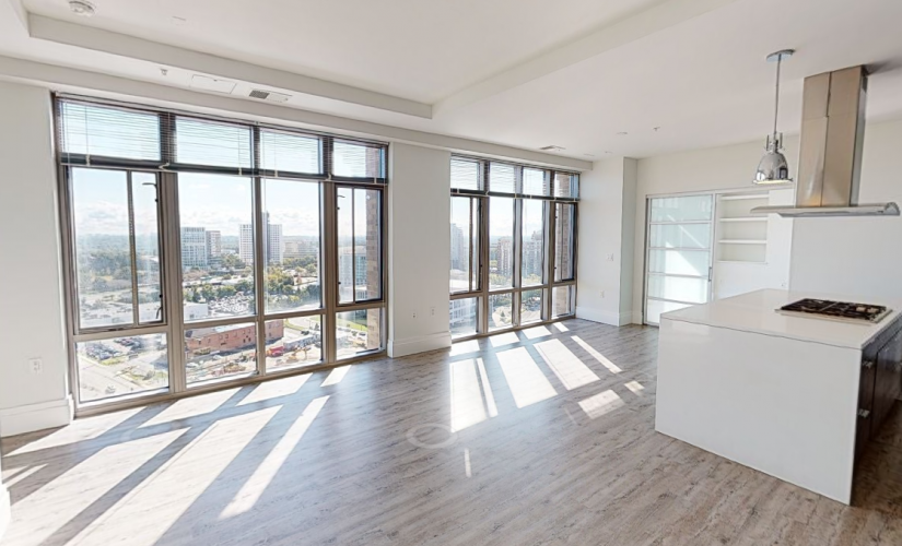 1 Bedroom with Den Penthouse